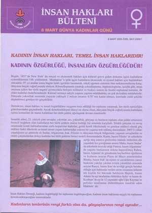 International Women's Day-2005